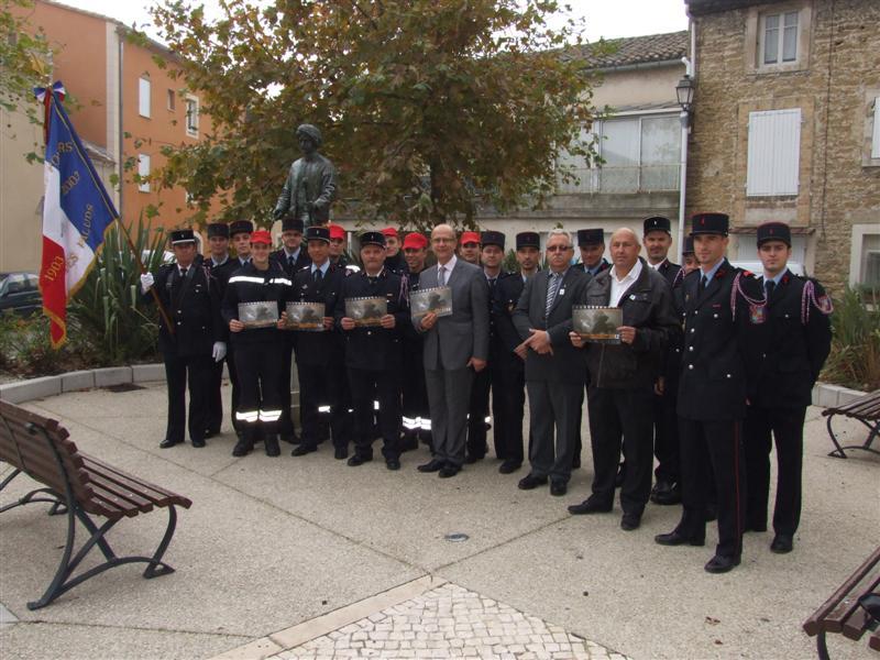 Les Pompiers d'Althen vous présentent leur calendrier 2012