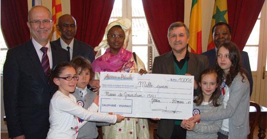 Althen reçoit Oumou SALL SECK, Maire de Goundam (MALI)