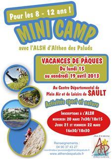 MINI CAMP ALSH à Sault