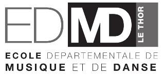 Délégation Ecole départementale de Musique du Thor