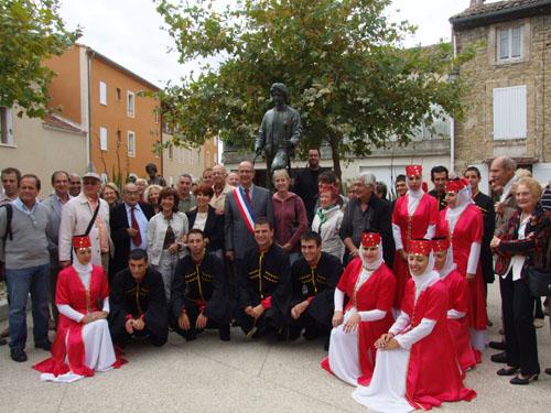 Cinquieme anniversaire de la statue de Jean Althen