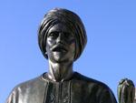 Jean Althen, agriculteur althénois venu d'Arménie pour importer la garance - Statue de Jean Althen (Place de la Mairie, Althen des Paluds)