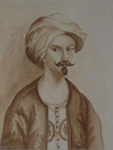 Portrait de Jean Atlhen (Althen des Paluds)