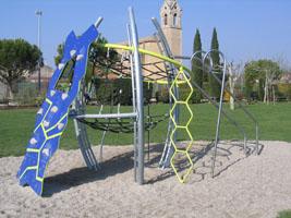 Jeux enfants Jardin Montecarlo Althen des Paluds