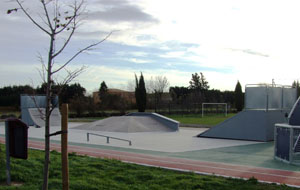Skate parc Althen des Paluds