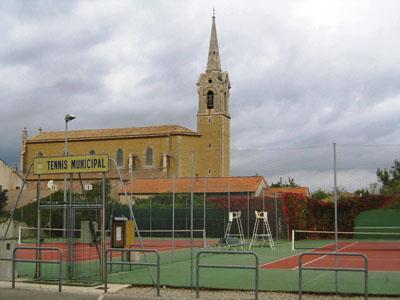 Courts de tennis Althen des Paluds